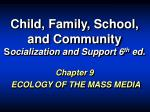 Child, Family, School, and Community S ocialization and Support 6 th ed.