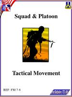 Squad & Platoon Tactical Movement
