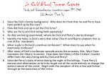 In Cold Blood , Truman Capote Study and Comprehension Questions pages 217-248 III-Answer (Part 3)