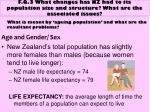 What is meant by 'ageing population' and what are the resultant problems? Age and Gender/ Sex