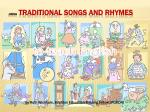 Using Traditional Songs and Rhymes