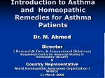 Introduction to Asthma and Homeopathic Remedies for Asthma Patients