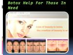 Get Rid of Wrinkles with Botox