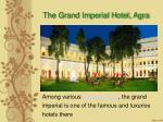 Hotel The Grand Imperial Agra