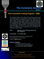 The Cytometry Society
