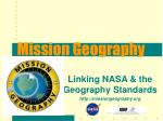 Mission Geography