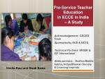 Acknowledgement  : CECED Team Sponsored  by AUD & NCTE