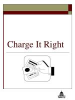 Charge It Right