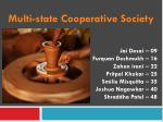 Multi-state Cooperative Society