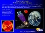 Solar X-ray Imager Archive and Public Interface