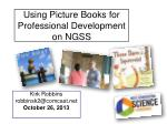 Using Picture Books for Professional Development on NGSS