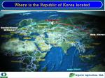 Where is the Republic of Korea located