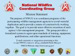 National Wildfire  Coordinating Group