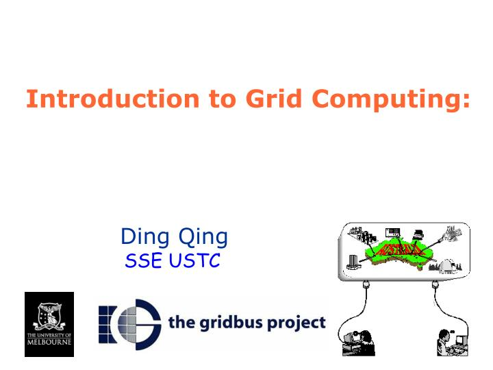 introduction to grid computing n.