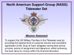 North American Support Group (NASG) Tidewater Det