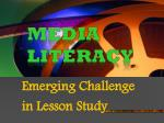 Emerging Challenge  in Lesson  Study