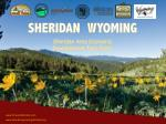 SHERIDAN WYOMING