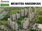 Microtek Greenburg is upcoming residential project