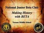 National Junior Beta Club