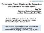 Three-body Force Effects on the Properties  of Asymmetric Nuclear Matter