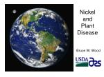 Nickel and Plant Disease