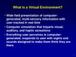 What is a Virtual Environment?