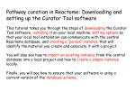 Pathway curation in Reactome: Downloading and setting up the Curator Tool software