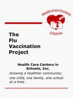 The Flu Vaccination Project