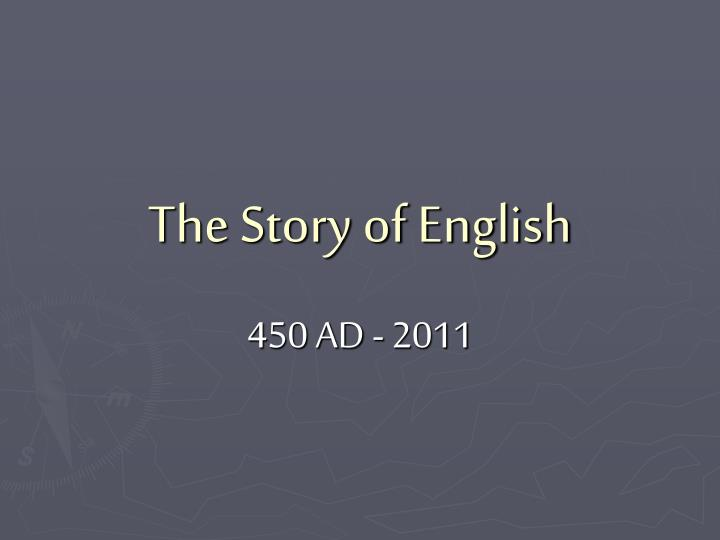 the story of english n.