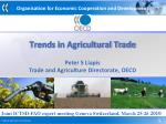 Trends in Agricultural Trade
