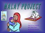MALAY PROJECT