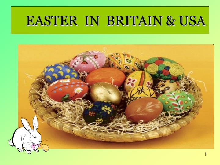 easter in britain usa n.