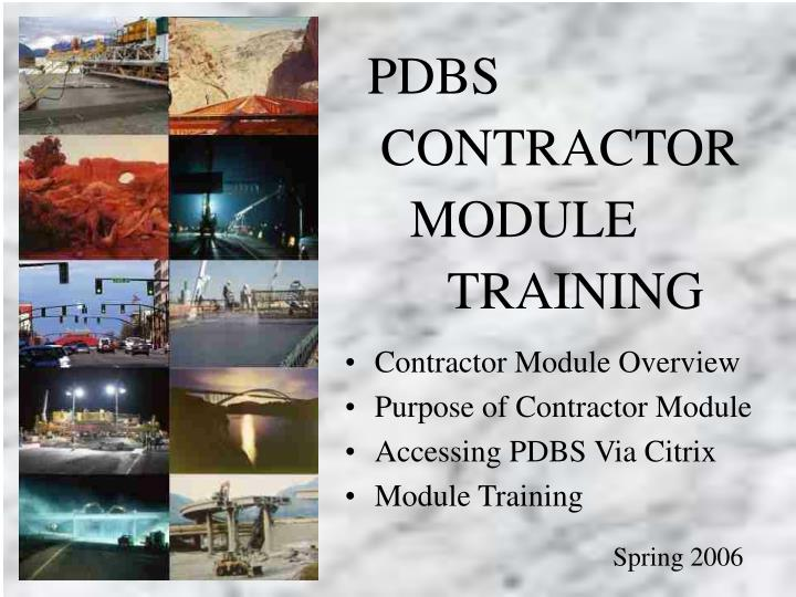 contractor module training c 400 subcontract agreements n.