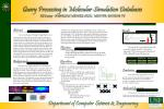 Query Processing in Molecular Simulation Databases