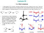 Lecture 33 1)  h 3 -Allyl complexes