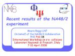 Recent results of the NA48/2 experiment