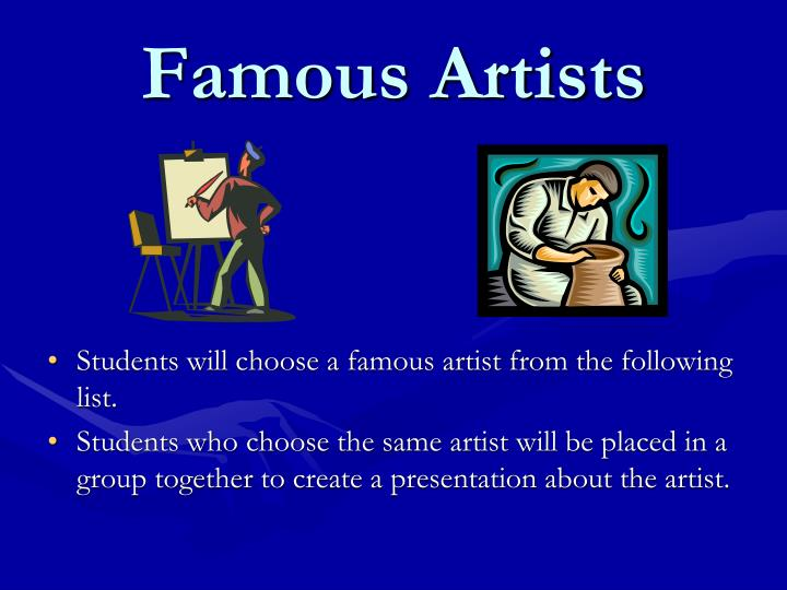 famous artists n.