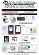 Improving Personal and Environmental Health Decision Making with Mobile Personal Sensing