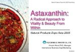 Astaxanthin: A Radical Approach to Vitality & Beauty From Within