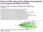 Gianluca Usai –University of Cagliari and INFN (Italy) on behalf of