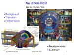 The STAR-RICH