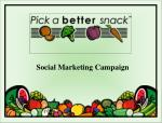 Social Marketing Campaign