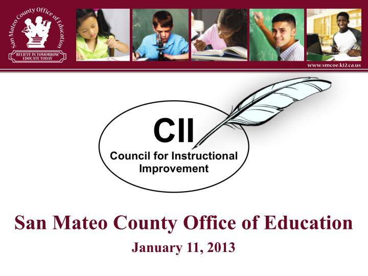 san mateo county office of education january 11 2013 n.