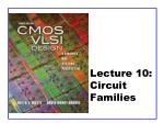 Lecture 10: Circuit Families