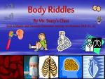 Riddles About Your Body