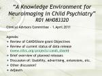 """A Knowledge Environment for Neuroimaging in Child Psychiatry"" R01 MH083320"