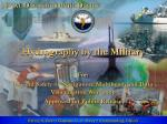 Hydrography by the Military