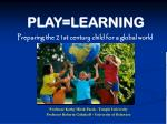 PLAY=LEARNING