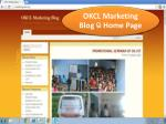 OKCL Marketing Blog  ର Home Page