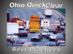 Ohio Quick Clear Committee